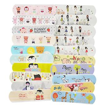 Vandtæt Cartoon Bandages Klistermærker (120pcs)