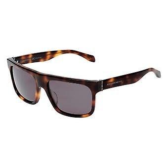 Heren zonnebril Alexander McQueen AM0037S-003 ( 56 mm) (Grijs)