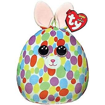 """TY Bloomy Bunny Squish-A-Boo 10"""""""