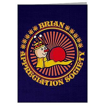 The Magic Roundabout Brian Appreciation Society Greeting Card