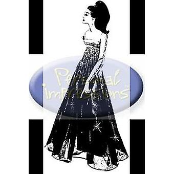 Personal Impressions Marilyn Black Dress Rubber Cling Stamp