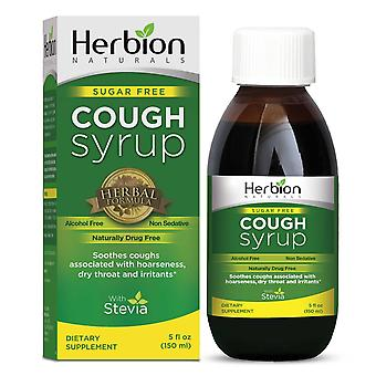 Herbion Naturals Sugar Free Cough Syrup with Stevia - 5 fl oz