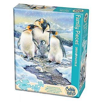 Cobble hill puzzle - penguin family - 350 pc