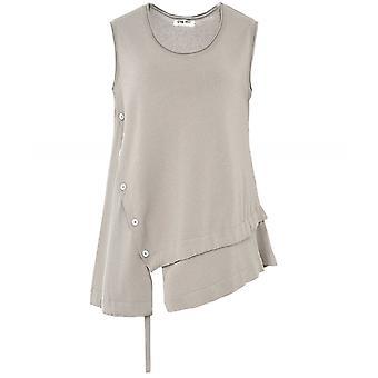 Crea Concept Asymmetric Vest Top