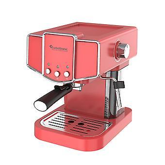 Turbo Tronic CM23 Piston Retro Espressomaskin - Röd