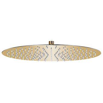 vidaXL Rain shower stainless steel 40 cm Round Golden