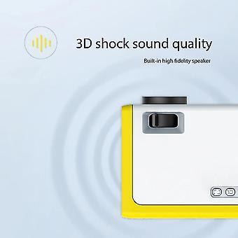 M1 Mini Projector Ondersteuning 1080P Display Portable