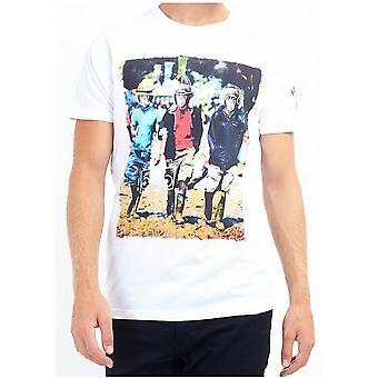 Brave Soul Mens Chimpanzee Festival T-Shirt