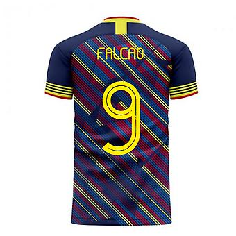 Colombia 2020-2021 Derde Concept Football Kit (Libero) (FALCAO 9)
