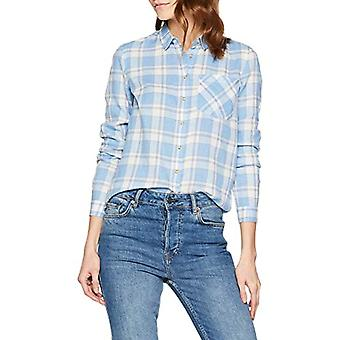 Springfield 1.t.AP.r.Camisa Cuadro AZ T-Shirt, Blue (Gama Azules 12), Unique (Manufacturer Size: 36) Woman