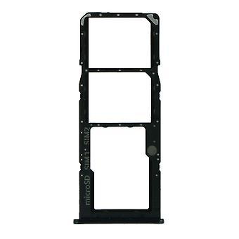 لسامسونج جالاكسي A51 - SM-A515 - علبة بطاقة SIM مزدوجة - أسود