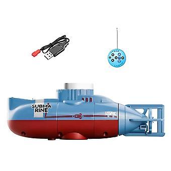 Mini Rc Submarino, Brinquedo de Barco de Velocidade Elétrica, Modelo Mestre de Mergulho