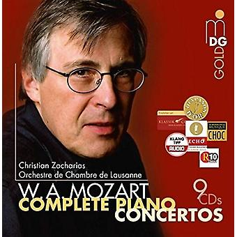 Christian Zacharias Chamber Orchestra O - Mozart: Complete Piano Concertos [CD] USA import