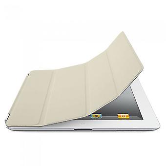 Original Apple Leather Smart Cover for iPad 2/3/4 - Cream