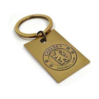 Chelsea FC metal vintage Crest nyckel ring