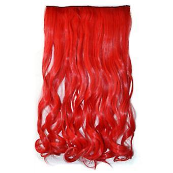 Scarlet colorful gradient ramp cosplay hair extension wig dt1038