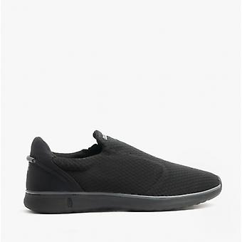 Hush Puppies Good Mens Slip-on Recycled Trainers Noir