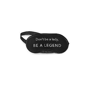 Los Angeles Trading Co. Be A Legend Eye Mask