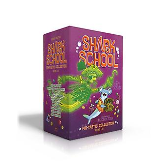 Shark School FinTastic Collection Books 110 DeepSea Disaster Lights Camera Hammerhead SquidNapped The Boy Who Cried Shark A FinTastic Finish Splash Dance Tooth or Dare Fishin Imposs by Davy Ocean & Illustrated by Aaron Blecha