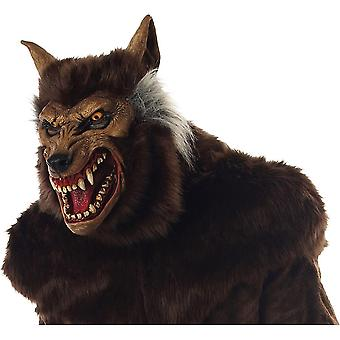 Anime Werewolf Masks Animal Wolf Realistic Cosplay Latex Masques Halloween Costumes Accesories Carnival Headgear Party Props