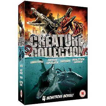Creature Collection DVD (2011) Eric Roberts OBrien (DIR) cert 15 4 discs Region 2