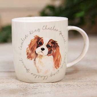 Lo mejor de la taza de porcelana de la raza - King Charles Spaniel