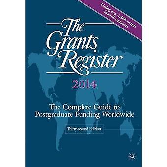 Bidragsregistret 2014 av Redigerat av Palgrave MacMillan Ltd