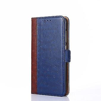 Apple iPhone XR Two-Tone Flip Case Cover - Bleu