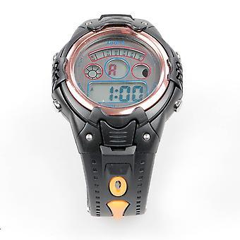 XOOM 8220196 Digital Wrist Watch, Silicone Cordon, Digital Wrist Watch, Illuminated Display, Unisex Wrist Watch, Water Resistant,