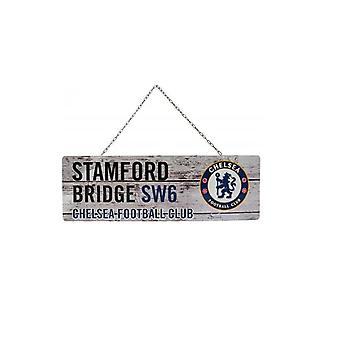 Chelsea FC Rustic Garden Signe