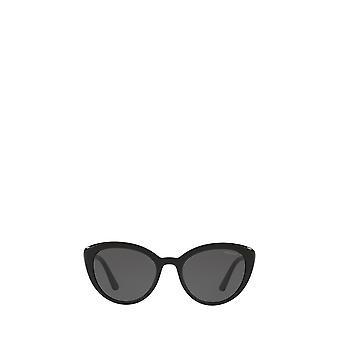 Prada PR 02VSF black female sunglasses
