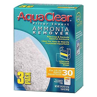 Aquaclear Ammonia Remover Filter Insert - Size 30 - 3 count