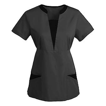 Női munkaruházat Ruházat Spa Scrub Shirt Kisállat Ápolási Intézmény Spa Uniform
