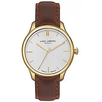 LLarsen (Lars Larsen Brown Genuine Leather) WH120GB-BLG20 Men's Watch
