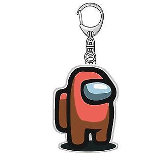 Unter uns Spiel-Themen-Schlüsselanhänger (Yk04 No4)