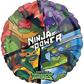 307181 Hx Rise of the Teenage Mutant Ninja Turtles Folienballon
