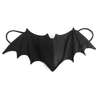 Ei voi saapua ennen Halloween-yesfit Halloween hauska persoonallisuus bat naamio anti-savusumu ja pölynkestävä life mask
