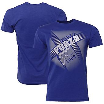 "Forza sport ""Crossroads"" MMA T-Shirt-Royal Blue"