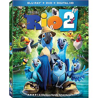 Rio 2 [BLU-RAY] Yhdysvallat tuoda