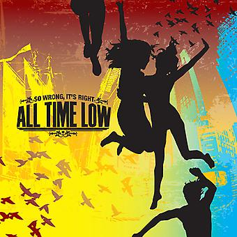All Time Low - So Wrong It's Right [CD] USA import