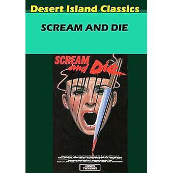 Scream & Die [DVD] USA import