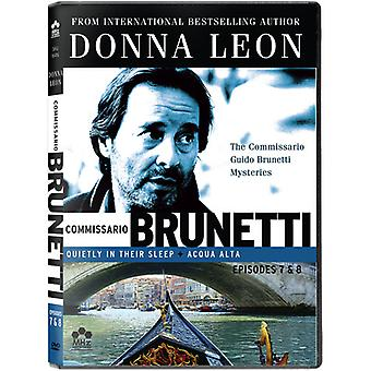 The Commissario Guido Brunetti Mysteries: Quietly in Their Sleep/Acqua Alta [DVD] USA import
