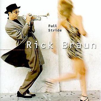 リック ・ ブラウン - におけるストライド [CD] USA 輸入