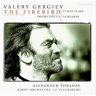 Gergiev/Kirov Orch. - Stravinsky: L'uccello di fuoco; Scriabin: Importazione USA Prometheus [CD]