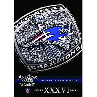 NFL America's Game: Patriots (Super Bowl Xxxvi) [DVD] USA import