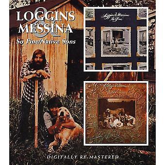 Loggins & Messina - joten sakon tai alkuperäinen pojat [CD] Yhdysvallat tuoda