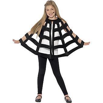 Pająki kostium dzieci przędzenia Cape płaszcz Halloween