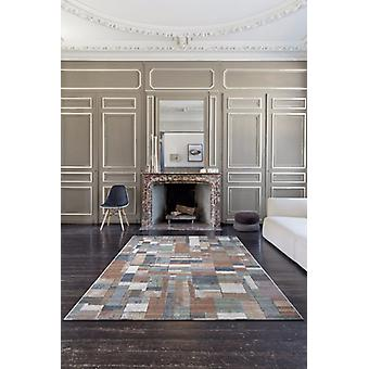 Galleria 063 0244 2626 Brown Mulit colour  Rectangle Rugs Modern Rugs