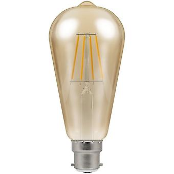 Crompton 7.5W LED Filament Squirrel Cage Light Bulb, B22