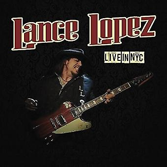 Lance Lopez - Live in Nyc [CD] USA import